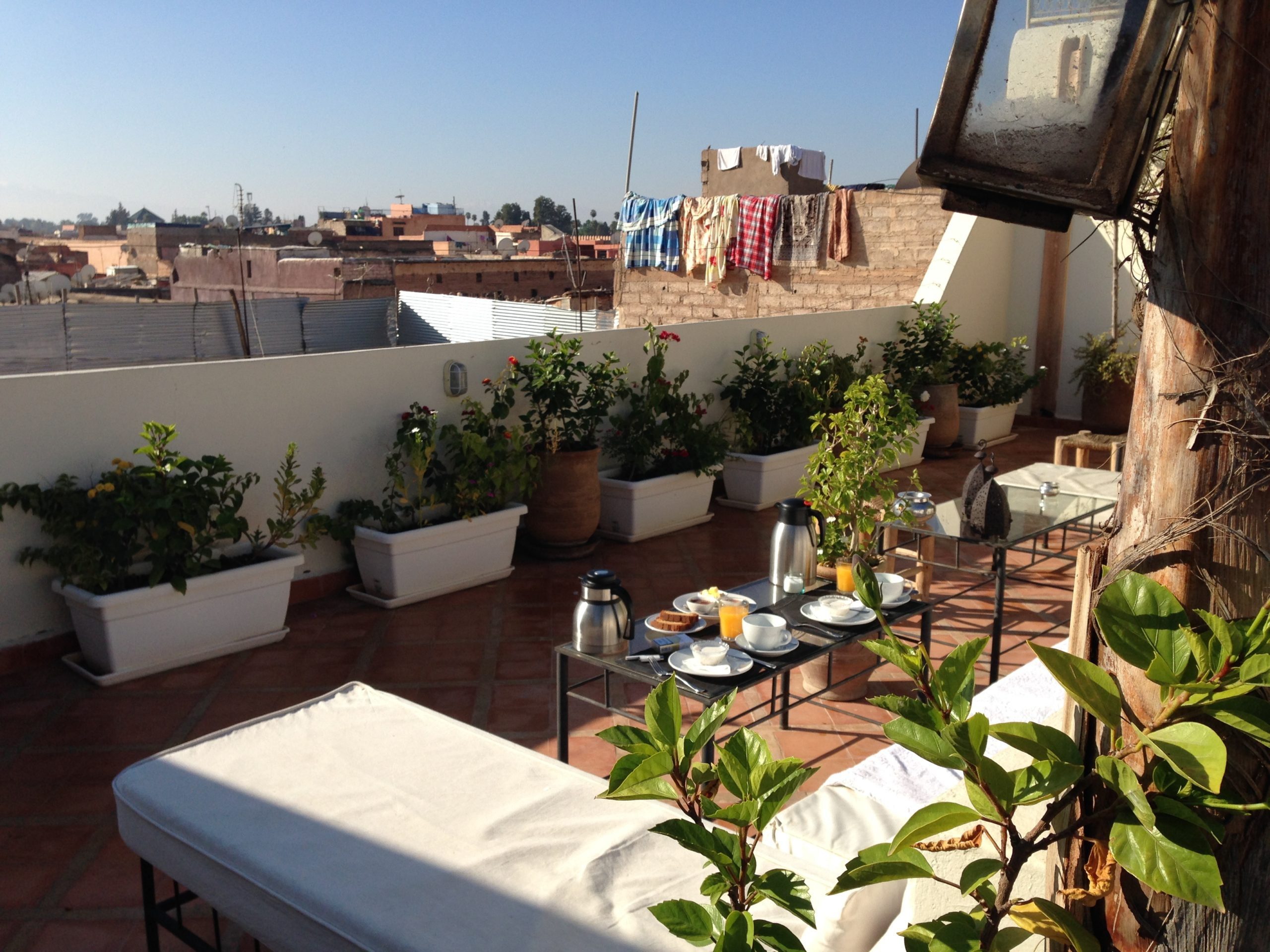 Rooftop Dar Crystal Marrakech